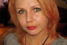 beautifulredheadoftheday / some pics when i was a redhead :)