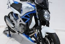 Suzuki SVF 650 Gladius 2009/2015 by Ermax Design / Accessories