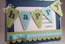 Cards - birthday / by Stella Upton