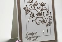 Card Making - S.U. Flourish Thinlets