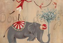Vintage Circus / by Bonnie Barnert