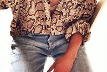SNAKE PRINTS / kledingstukken met slangeprints