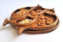 Handmade wooden decor by Omar Handmade
