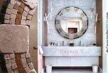 Concepto V Mosaicos Deco / Objetos de diseño creados por Vanesa V. Galizia #Decoración #Interiorismo #Mosaico