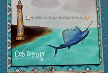 From Land to Sea Card Ideas / by Laurie Graham: Avon Rep