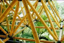 bamboo space frame idea