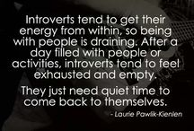 In My Bubble... INTJ female / One for the introverts.