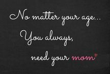 Mother's Day / A board to celebrate our Mothers.