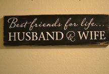 Sign quotes & canvas painting
