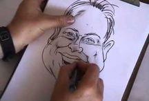 Karikatuur tekenen tutorials