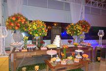 Casamento - decoração rústica
