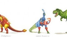 Dinosaurs/The Avengers / by The Mary Sue