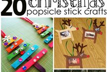Christmas Popsicle Stick Crafts for Kids to Make - Craft