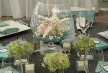 Ideas para bodas y celebraciones en la playa - Wedding and celebrations beach ideas