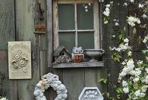 escaping the inside walls / gardening