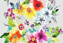 Kevät | Kesä 2016 Loma Balilla / Kevät | Kesä 2016 kangasmallistossa, Loma Balilla, sukelletaan kirkkaisiin väreihin ja nautitaan runsaista kuvioista. Voimakkaat värit kukkaprinteissä, fotorealistiset kuosit ja raikkaat muodot tuovat paratiisin sisustukseen ja vaatetukseen.