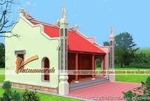 Thiết kế nhà thờ họ có hậu cung / Vietnamarch thiết kế nhà thờ họ Nguyễn - nhà thờ có hậu cung cho nhà ông Nguyễn Văn Vẻ tại Tam Điệp - Ninh Bình.  http://vietnamarch.com/nha-tho-co-hau-cung.html