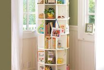 Children's Bookcases / Ideas and products for storing children's books.