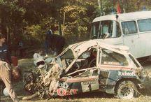 Motorsport crash