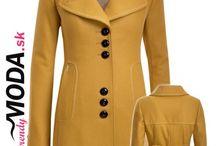 Zimné dámske kabáty