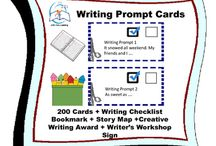 Writing Prompts Task Cards / Writing Prompts Task Cards. SAVE money with this bundle! This is your writing center for the year with these 200 writing prompts task cards! These high-interest writing prompts task cards will encourage students to describe, explain, persuade, and narrate throughout the school year. As always Little Tots Learning is looking for ways to make your life easier.