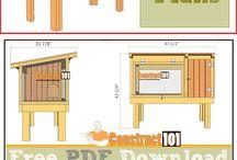 Quail hutch