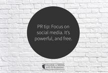 PR tips / Handy PR tips from distance learning course provider, the College of Media and Publishing.