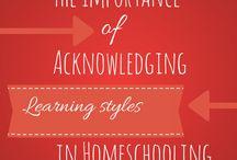 Homeschool:Learning Styles & Methods / Styles and methods of homeschooling. / by Christian Homeschool Moms {Demetria Zinga}
