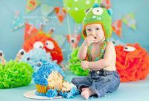Ashton's turning 1!! / by Lindsey Ratcliff
