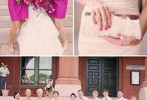 Fuchsia ☆ Wedding Inspirations / Fuchsia Pink Wedding delights! / by Contessa Garters