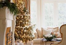 Home Decor - Gold, Silver, Bronze / Yes, you can use more than one metallic in your decorating!  It just has to be tastefully done.
