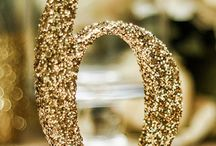 Glitz & Glam Weddings / Glimmer, shimmer and bling themed wedding ideas