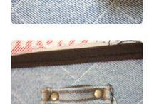 джинсовый чемодан