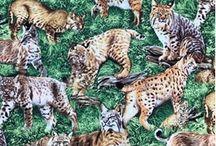 American Wildlife / Get Wild with these Woodland Animal Fabrics