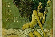 Green Fairies and the Art Deco Dream