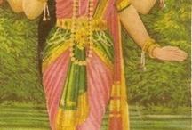 Krisna en laxhmi