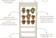Vertical Herbs / Urban Garden