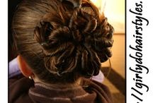 hairstyles for kenzie when she gets hair [: / by Tiffany briellee