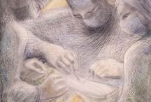 Barbara Hepworth: The Hospital Drawings / Images and reviews from the recent exhibition about Barbara Hepworth's Hospital Drawings