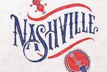 Nashville / The 615. Good ole Music City, USA.