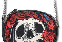 Ropa y complementos tattoo / Ropa y complementos tattoo style, diseño tatuaje, ropa diferente, bolsos, carteras calaveras. Tienda Online: tienda.13depicas.com