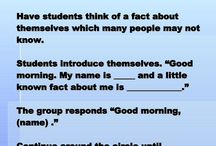 ideas for class