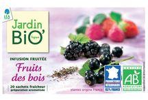 Les infusions fruitées Jardin BiO'