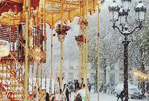 Paris in the winter / by Kristin Hurley