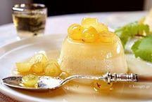 Άλλα Γλυκά-Other Desserts / Πανακότα με Σιρόπι Vinsanto