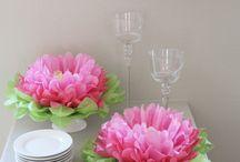 Paper flower for weddings