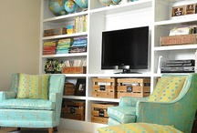 Loungeroom shelving