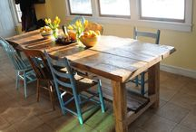 harvest tables / by Marla Herrington