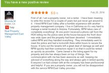 Customer Reviews / Some great #reviews for our #franchise locations / by Real Property Management