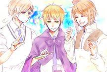 Magic trio